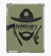 the Walking Dead - Ricktatorship iPad Case/Skin