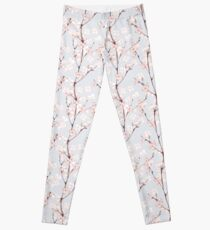 Blossom. Watercolor seamless floral pattern Leggings