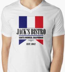 Jack's Bistro - Three's Company T-Shirt (Modern Re-Design) T-Shirt