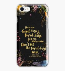 ACOMAF - Don't Let The Hard Days Win iPhone Case/Skin