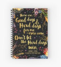 ACOMAF - Don't Let The Hard Days Win Spiral Notebook