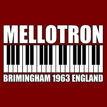 Mellotron  Brimingham 1963 England white by matanga