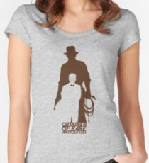 Obtainer of Rare Antiquities Women's Fitted Scoop T-Shirt