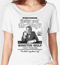 Better call Mr. Wolf Women's Relaxed Fit T-Shirt