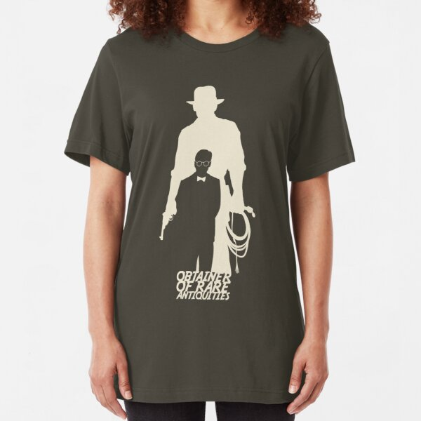 Obtainer of Rare Antiquities (light) Slim Fit T-Shirt