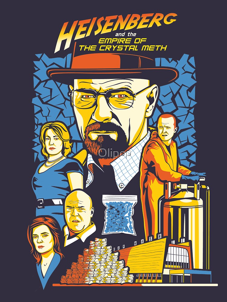 Heisenberg and the Empire of the Crystal Meth | Unisex T-Shirt