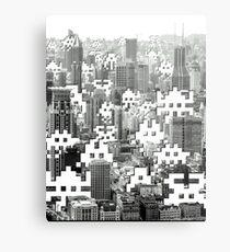 Space Invaders ! Metal Print