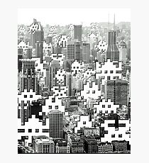 Space Invaders ! Photographic Print