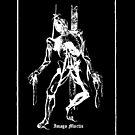 Hangman Tarot XII Sticker by Imago-Mortis