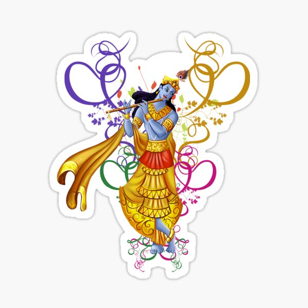 Lord Krishna Sticker Photo