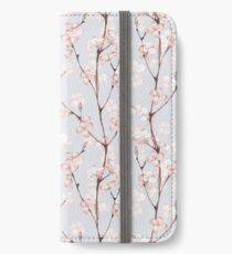 Blossom. Watercolor seamless floral pattern iPhone Wallet/Case/Skin