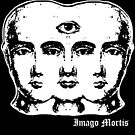 Tricephalous Sticker by Imago-Mortis