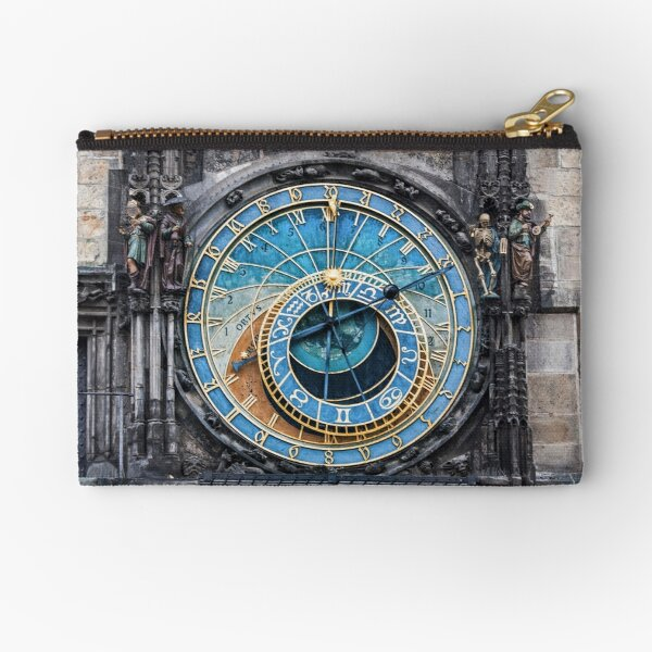 Astronomical clock Zipper Pouch