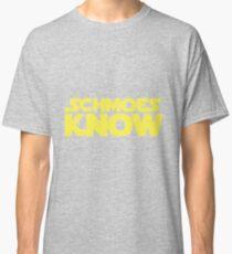 Schmoes Know funny parody joke humor movie tv show cartoon Classic T-Shirt
