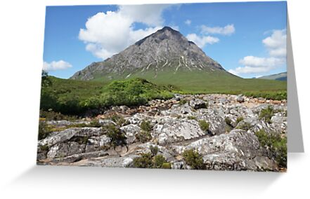 Buachaille Etive Mor 159, the Highlands , Scotland by David Rankin