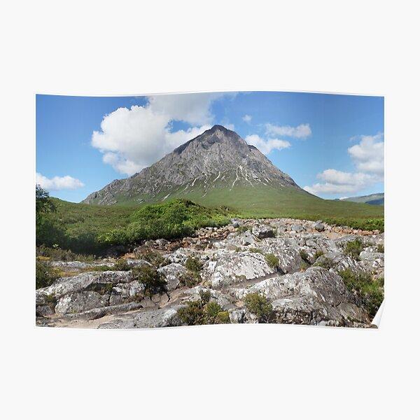 Buachaille Etive Mor 159, the Highlands , Scotland Poster