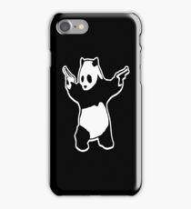 Panda With Guns iPhone Case/Skin