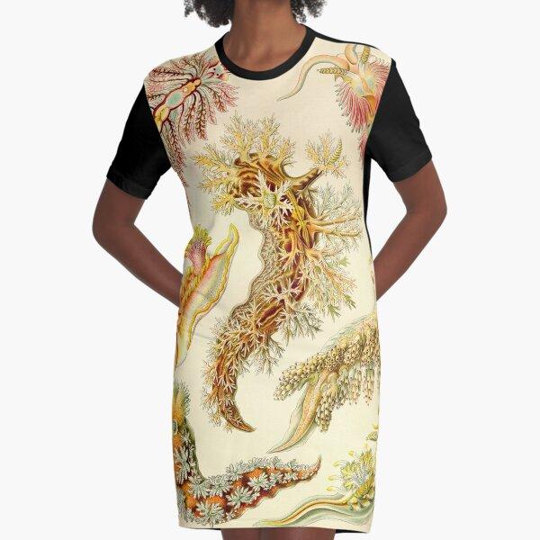 Meeresschnecke - Ernst Haeckel T-Shirt Kleid