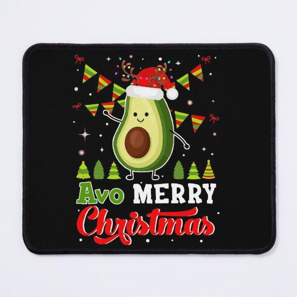 Avo Merry Christmas Mouse Pad