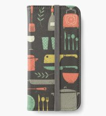 Love Your Kitchen. Retro Edition iPhone Wallet/Case/Skin