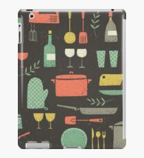 Love Your Kitchen. Retro Edition iPad Case/Skin