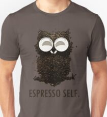Espresso Self w/ text Unisex T-Shirt