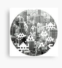Space Invaders! Metal Print
