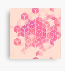 Cubes in Abstract Canvas Print