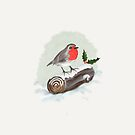 A Christmas Robin by Rasendyll