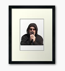 Fuck Her Right In The Pussy Framed Print