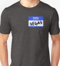 Hello My Name is Negan T-Shirt
