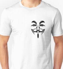 Guy Fawkes Mask 2 Unisex T-Shirt