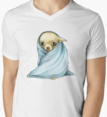 Chihuahua Wrapped in a Blanket T-Shirt