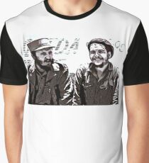 Fidel Castro and Che Guevara Graphic T-Shirt