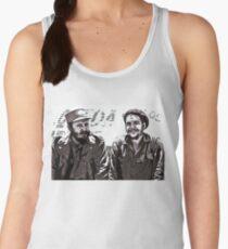 Fidel Castro and Che Guevara Women's Tank Top