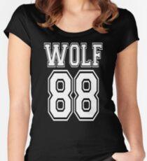 Camiseta entallada de cuello ancho ♥ ♫ Me encanta KPop-Awesome EXO WOLF 88 ♪ ♥