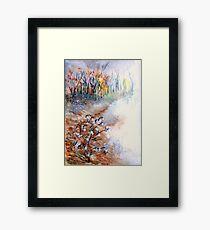 Cotton Fields Framed Print