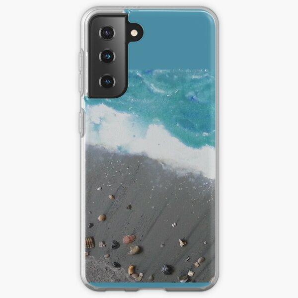 Cocoa Beach with Cocoa Beach Shells Samsung Galaxy Soft Case