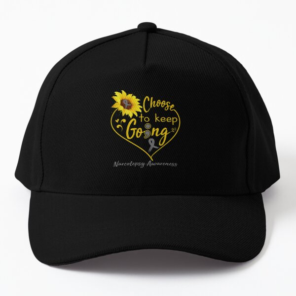Narcolepsy Awareness Choose To Keep Going , Support Narcolepsy Warrior Gifts Baseball Cap