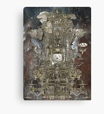 Steampunk Space Transport Canvas Print