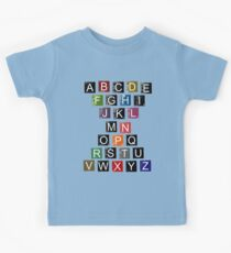Easy AlphaBet Kids Tee