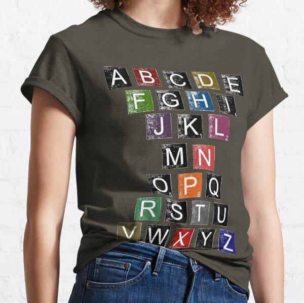 Easy AlphaBet Classic T-Shirt