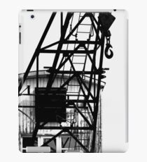 OLD HARBOR CRANE iPad Case/Skin
