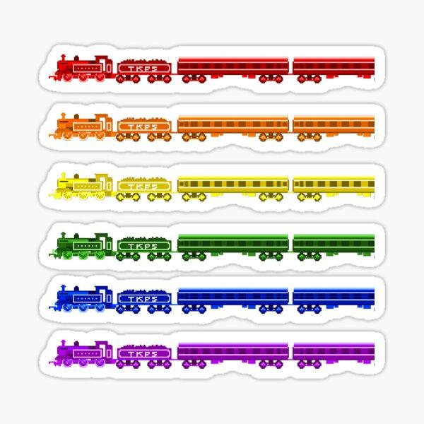Locomotive Colors - The Kids' Picture Show Sticker