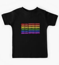 Locomotive Colors - The Kids' Picture Show - Pixel Art Kids Tee