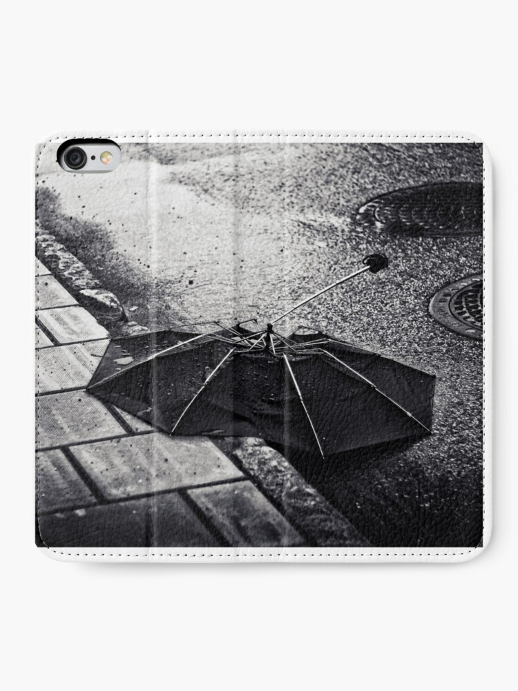 Alternate view of After the rain iPhone Wallet
