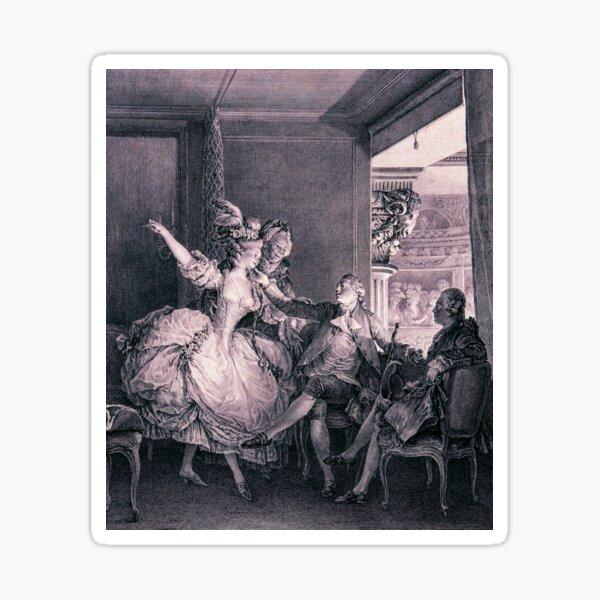 Rococo opera box Sticker