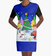 happy christmas Graphic T-Shirt Dress