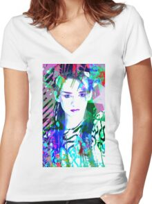 The Boy Women's Fitted V-Neck T-Shirt