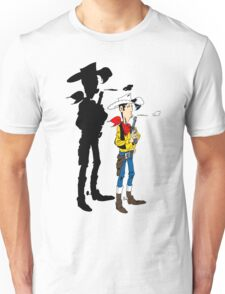 Lucky Luke Shadow Unisex T-Shirt